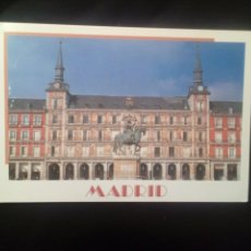Postales: POSTAL MADRID PLAZA MAYOR SIN CIRCULAR. Lote 189626413
