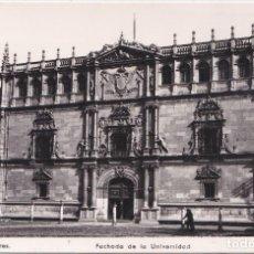 Postais: ALCALA DE HENARES (MADRID) - FACHADA DE LA UNIVERSIDAD. Lote 189705482