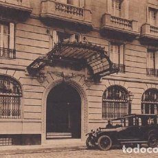 Postales: MADRID SAVOY HOTEL ENTRADA PASEO DEL PRADO ED. MATEU. Lote 271412618