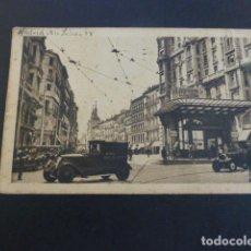 Postales: MADRID RED DE SAN LUIS Y CALLE DE LA MONTERA. Lote 190240472