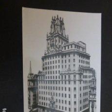 Postales: MADRID PALACIO DE LA TELEFONICA. Lote 190540787