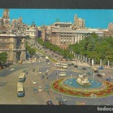 Postales: POSTAL CIRCULADA - MADRID 103 - PLAZA DE LA CIBELES - EDITA BEASCOA. Lote 190894703
