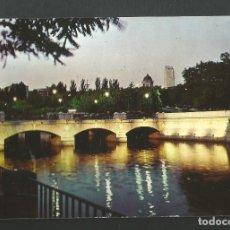 Postales: POSTAL CIRCULADA SIN SELLO - MADRID 2060 - RIO MANZANARES Y PUENTE DEL REY - EDITA U.D.E. Lote 190894877