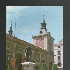 Postales: POSTAL SIN CIRCULAR PUBLICITARIA IBERIA - MADRID - AYUNTAMIENTO - EDITA M.E.C GRACOSA. Lote 190895061
