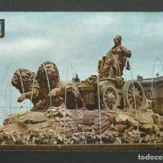 Postales: POSTAL CIRCULADA SIN SELLO - MADRID 5 - LA CIBELES - EDITA ESCUDO DE ORO. Lote 190895088