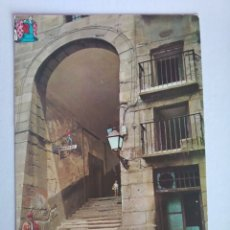 Postales: POSTAL 118 MADRID EL ARCO DE LOS CUCHILLEROS BEASCOA AÑO 1963 CIRCULADA. Lote 190922830