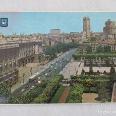 Postales: MADRID - PALACIO REAL Y EDIFICIOS PLAZA DE ESPAÑA - S/C. Lote 190925536