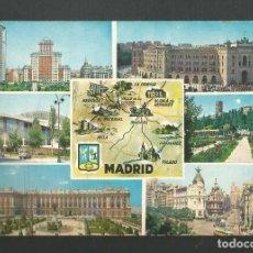 Postales: POSTAL CIRCULADA - MADRID 137 - EDITA BEASCOA. Lote 190936565