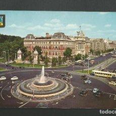 Postales: POSTAL SIN CIRCULAR - MADRID 134 - FUENTE DE LA PLAZA DEL EMPERADOR CARLOS V - EDITA ESCUDO DE ORO. Lote 190937207