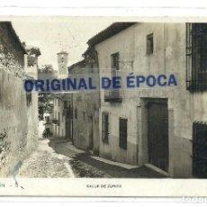 Postales: (PS-62448)POSTAL FOTOGRAFICA DE CHINCHON-CALLE DE ZURITA.CENSURA. Lote 191082685