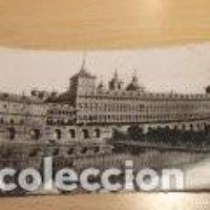 Postales: POSTAL MONASTERIO DEL ESCORIAL, MADRID 1952, CIRCULADA. Lote 191206583