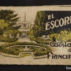Postales: CARPETA CON 18 POSTALES DE LA CASITA DEL PRINCIPE DE EL ESCORIAL. VER FOTOS Y COMENTARIOS. Lote 191208891