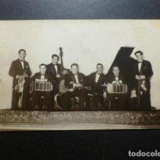 Postales: MADRID GRUPO MUSICAL COLUMBIA POSTAL FOTOGRAFICA HACIA 1930 MENA FOTOGRAFO. Lote 191436727