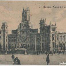 Cartes Postales: LOTE K-POSTAL MADRID 1920.-25 MATA SELLOS. Lote 191473407
