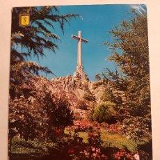 Postales: VALLE DE LOS CAIDOS VISTA DE LA CRUZ MADRID POSTAL. Lote 191564111