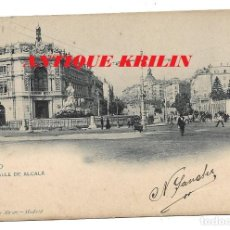 Postales: MADRID .- CALLE DE ALCALA Nº 25 HAUSER Y MENET . Lote 191725191