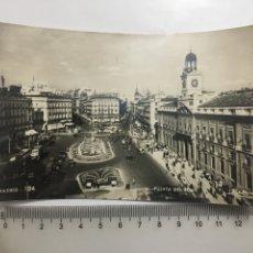 Postales: POSTAL. MADRID. PUERTA DEL SOL. ZERKOWITZ. H. 1958?.. Lote 191747060