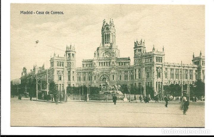 A100- 3 POSTALES DE MADRID ESCRITAS CON UNA CARTA AL DORSO DE LAS TRES DE CALATAYUD EL 22- 9-1.923 (Postales - España - Comunidad de Madrid Antigua (hasta 1939))