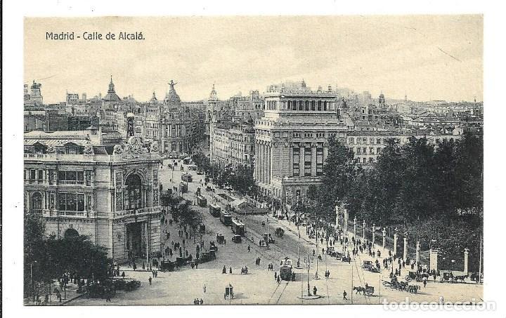 Postales: A100- 3 POSTALES DE MADRID ESCRITAS CON UNA CARTA AL DORSO DE LAS TRES DE CALATAYUD EL 22- 9-1.923 - Foto 2 - 191960452