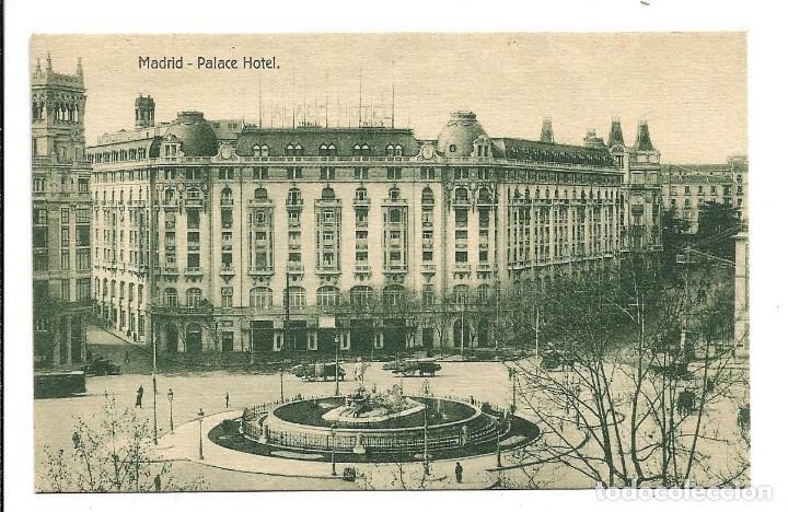 Postales: A100- 3 POSTALES DE MADRID ESCRITAS CON UNA CARTA AL DORSO DE LAS TRES DE CALATAYUD EL 22- 9-1.923 - Foto 3 - 191960452