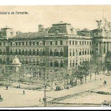Postales: A100- MADRID - POSTAL ANTIGUA - MINISTERIO DE FOMENTO - DEDICADA . Lote 191962455