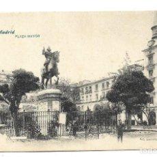 Postales: A100- MADRID - POSTAL ANTIGUA - PLAZA MAYOR Nº 11 - FOTO- LACOSTE - SIN CIRCULAR SIN DIVIDIR. Lote 191962871