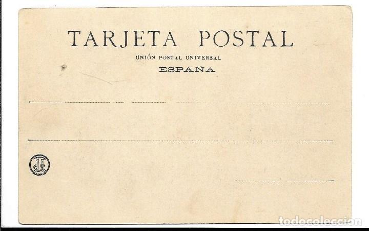 Postales: A100- MADRID - POSTAL ANTIGUA - PLAZA DE ORIENTE Nº 13 - FOTO- LACOSTE - SIN CIRCULAR SIN DIVIDIR - Foto 2 - 191963481