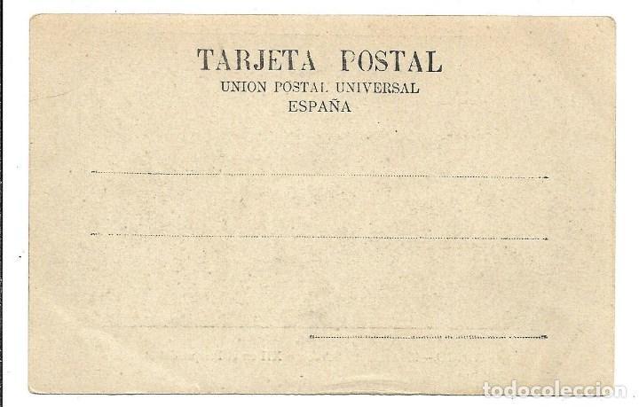 Postales: A100- MADRID - POSTAL ANTIGUA - ALFONSO XII PARQUE RETIRO Nº 1 - - SIN CIRCULAR SIN DIVIDIR - Foto 2 - 191963790