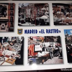 Postales: Nº 35115 POSTAL MADRID DIVERSOS ASPECTOS EL RASTRO. Lote 192023558