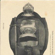 Postales: HAUSER Y MENET. TROFEO DE LAS ARMAS DEL ELECTOR DE SAJONIA. REAL ARMERÍA. ARMAS.. Lote 192269108