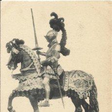 Postales: HAUSER Y MENET. ARNÉS ECUESTRE DE CARLOS V (1540). REAL ARMERÍA. . Lote 192269436