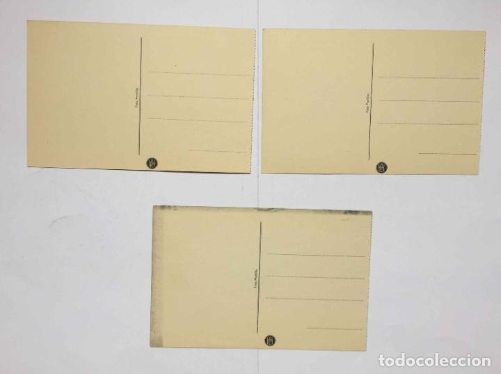 Postales: 3 tarjetas postales (1930's) Colegio ESCOLAPIOS - GETAFE (Portillo) ¡Sin circular! ¡Originales! - Foto 2 - 192359255
