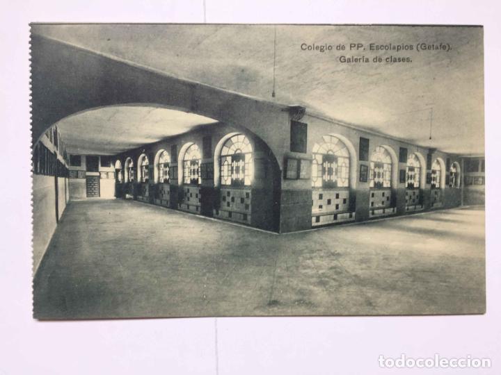 Postales: 3 tarjetas postales (1930's) Colegio ESCOLAPIOS - GETAFE (Portillo) ¡Sin circular! ¡Originales! - Foto 3 - 192359255