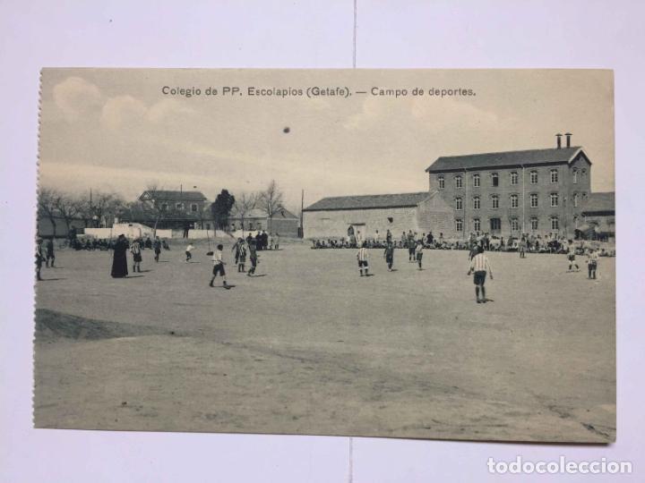 Postales: 3 tarjetas postales (1930's) Colegio ESCOLAPIOS - GETAFE (Portillo) ¡Sin circular! ¡Originales! - Foto 4 - 192359255
