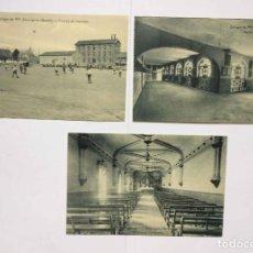 Postales: 3 TARJETAS POSTALES (1930'S) COLEGIO ESCOLAPIOS - GETAFE (PORTILLO) ¡SIN CIRCULAR! ¡ORIGINALES!. Lote 192359255