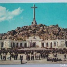 Postales: POSTAL 41 SANTA CRUZ DEL VALLE DE LOS CAÍDOS EXPLANADA Y FACHADA PRINCIPAL DEL MONUMENTO CIRCULADA. Lote 192590172