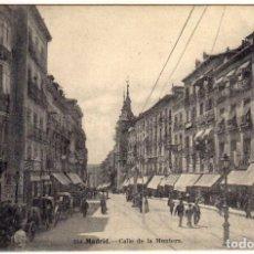 Postales: MAGNIFICA POSTAL - MADRID - CALLE DE LA MONTERA . Lote 192928485