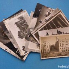 Postales: MADRID - 26 POSTALES ANTIGUAS DIFERENTES - VER FOTOS ADICIONALES. Lote 193054245