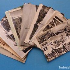 Postales: MADRID - 28 POSTALES ANTIGUAS DIFERENTES - VER FOTOS ADICIONALES. Lote 193054530