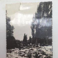 Postales: POSTAL EL RÍO, MIRAFLORES DE LA SIERRA, MADRID. AÑOS 50. Lote 193073588