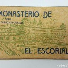 Postales: BLOCK POSTALES MONASTERIO ESCORIAL ( HAUSER Y MENET ). Lote 193627422