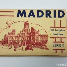 Postales: 20 POSTALES BLOCK MADRID SÉRIE II ( ED. HIJAS EMILIO FERNANDEZ ). Lote 193627783