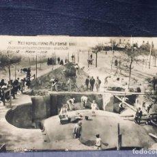Postales: POSTAL MADRID METROPOLITANO METRO ALFONSO XIII ESTACION DE CUATRO CAMINOS VESTIBULO. Lote 193644592