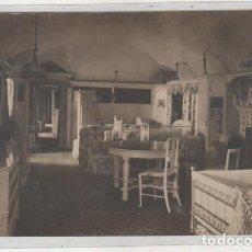 Postales: POSTAL FOTOGRÁFICA FRANZEN MADRID, DORMITORIO DE NIÑOS. CASA REAL ? NOBLEZA ? MADRID ? SIN CIRCULAR.. Lote 193950162