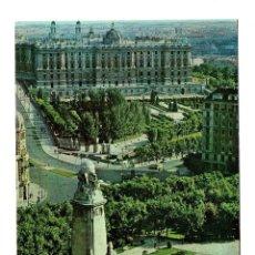 Postales: MADRID -- PLAZA DE ESPAÑA - HELIOTIPIA ARTISTICA ESPAÑOLA Nº 74 - ESCRITA NO CIRCULADA -. Lote 193958543