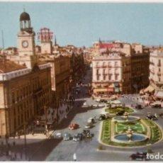 Postales: MADRID PUERTA DEL SOL. Lote 194106190