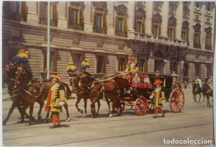MADRID -PALACIO REAL CARROZA DE EMBAJADORES (Postales - España - Comunidad de Madrid Antigua (hasta 1939))