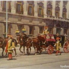 Postales: MADRID -PALACIO REAL CARROZA DE EMBAJADORES. Lote 194106635