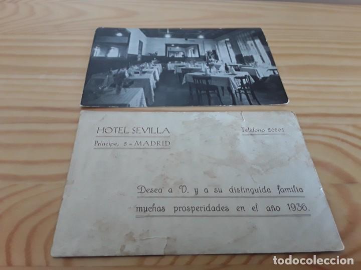 Postales: Antiguo Hotel Sevilla, 1935 - Foto 2 - 194150606
