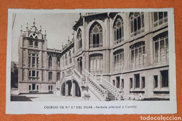 Postales: 23 antiguas Postales del Colegio de Ntra. Sra. del Pilar (Marianista) Castelló, 56 - Foto 2 - 194171348